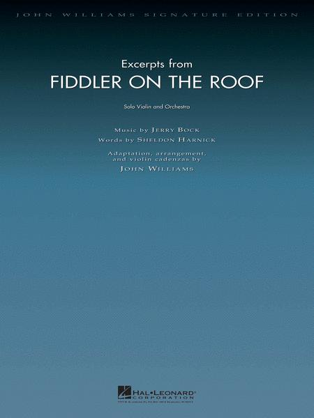 Excerpts from Fiddler on the Roof