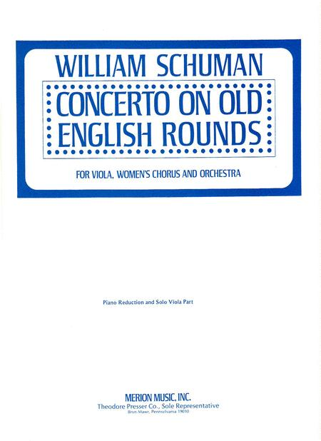 Concerto on Old English Rounds