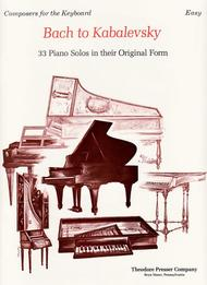 Bach To Kabalevsky