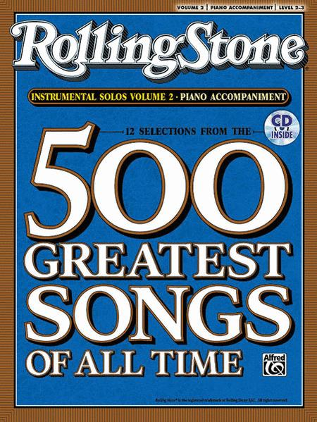 Selections from Rolling Stone Magazine's 500 Greatest Songs of All Time (Instrumental Solos), Volume 2