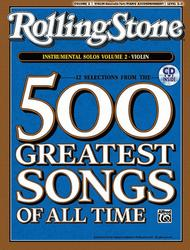 Selections from Rolling Stone Magazine's 500 Greatest Songs of All Time (Instrumental Solos for Strings), Volume 2