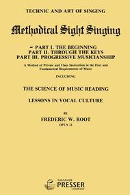 Methodical Sight Singing