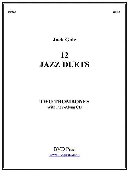 12 Jazz Duets for Two Trombones
