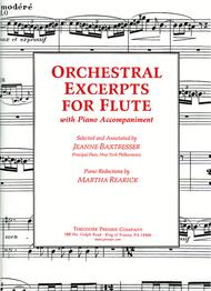 Orchestral Excerpts for Flute