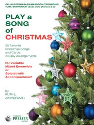Play A Song Of Christmas, Bass Clef Instr.
