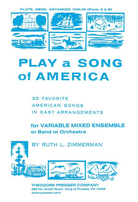 Play A Song Of America, Fl. Ob. Vn.