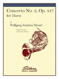 Concerto No. 3, K447