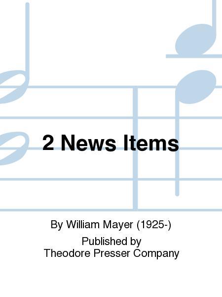 2 News Items