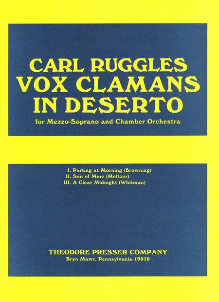 Vox Clamans in Deserto