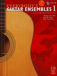Everybody's Guitar Ensembles, Book 1 with CD