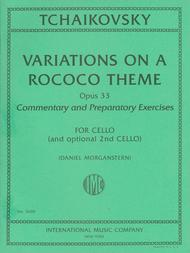 Variations on a Rococo Theme, Opus 33