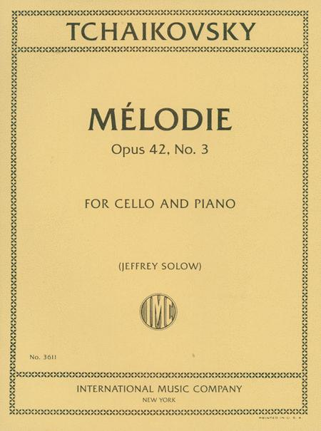 Melodie, Opus 42, No. 3