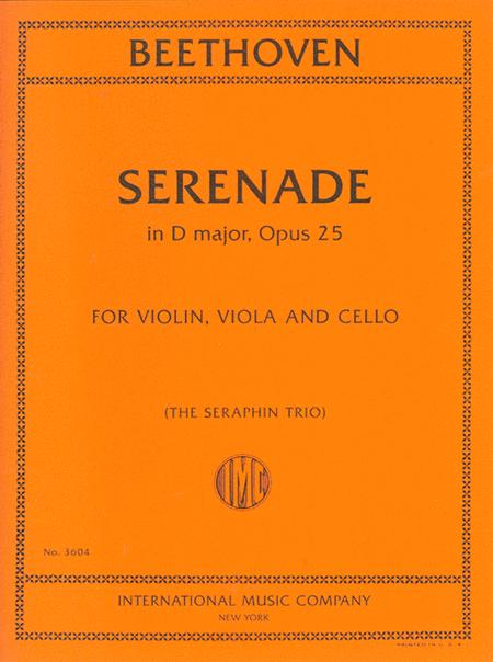 Serenade in D major, Opus 25
