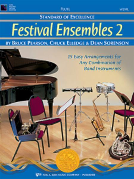 Standard of Excellence: Festival Ensembles 2 - Flute