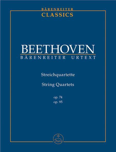 String Quartets op. 74, 95