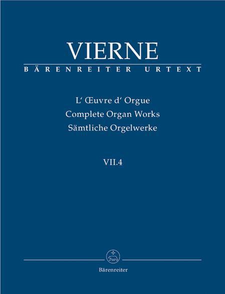 Pieces de Fantaisie en quatre suites, Livre IV, Op. 55
