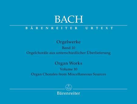 Organ Works, Volume 10