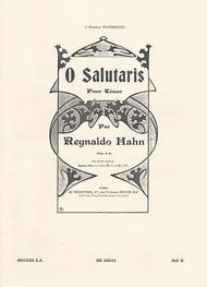 O Salutaris - Chant (Tenor) et Piano (Ou Orgue)