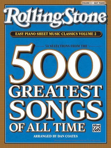 Rolling Stone Easy Piano Sheet Music Classics, Volume 2