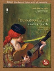 Carulli - Two Guitar Concerti (E Minor Op. 140 and A Major Op. 8a)