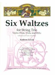 Six Waltzes for String Trio