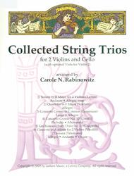 Collected String Trios for 2 Violins and Cello