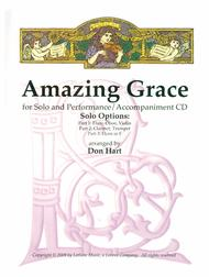 Amazing Grace for Solo Instrument and Perf/Accomp CD