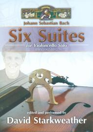 Six Suites for Violoncello Solo - 3-DVD Set