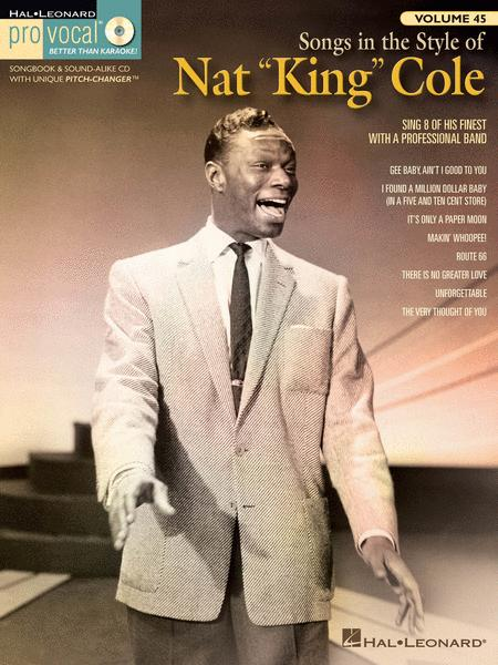 Songs in the Style of Nat King Cole