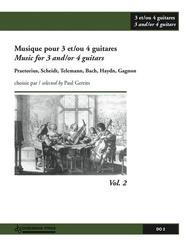 Musique pour 3 et/ou 4 guitares, Volume 2