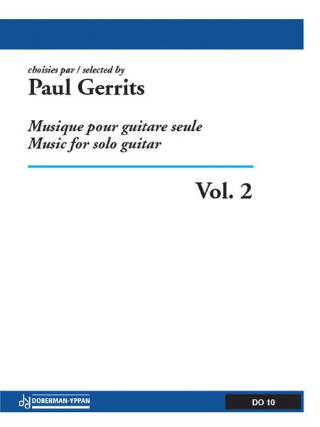 Musique pour guitare seule, Volume 2