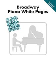 Broadway Piano White Pages