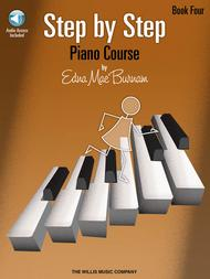 Step by Step Piano Course - Book 4 with Online Audio