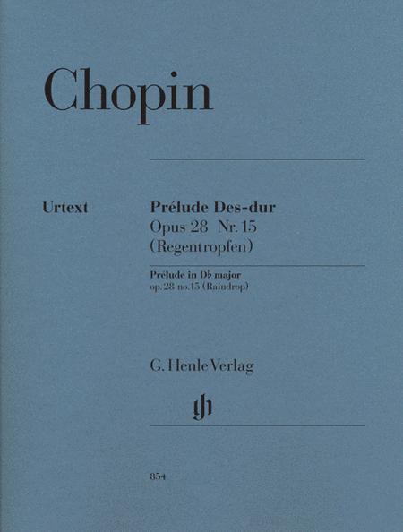 Prelude in D-flat Major Op. 28, No. 15 (Raindrop)