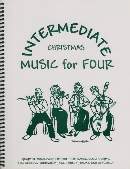 Intermediate Music for Four, Christmas, Part 2 - Flute/Oboe/Violin