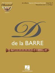Soprano (Descant) Recorder Suite No. 9 Deuxieme Livre in G Major