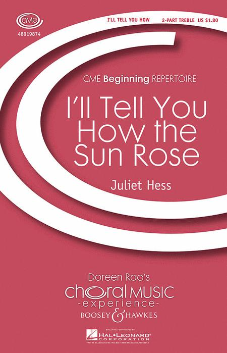 I'll Tell You How the Sun Rose