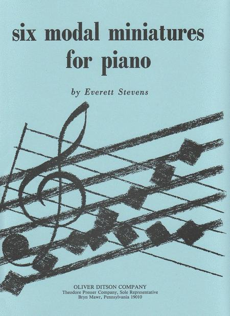 Six Modal Miniatures For Piano