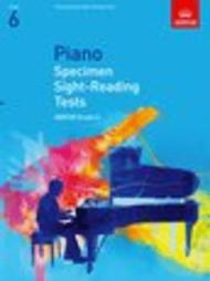 Piano Specimen Sight-Reading Tests, Grade 6