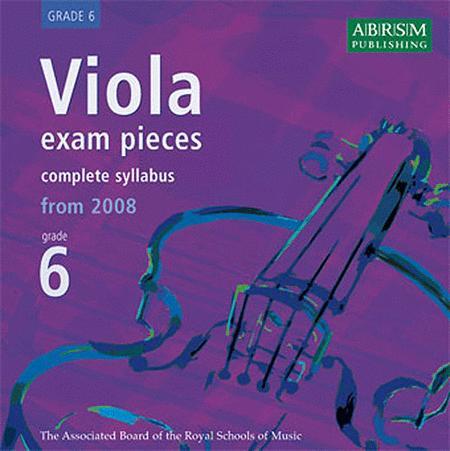 Viola Exam Pieces Recording Grade 6