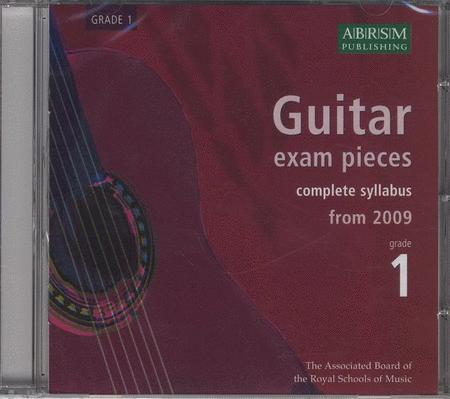 Guitar Exam Pieces 2009 CD, ABRSM Grade 1 Sheet Music By ABRSM