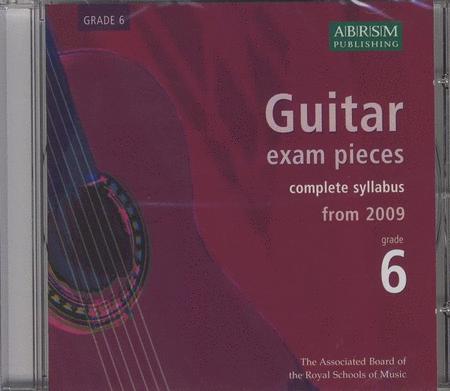 Guitar Exam Pieces 2009 CD, ABRSM Grade 6
