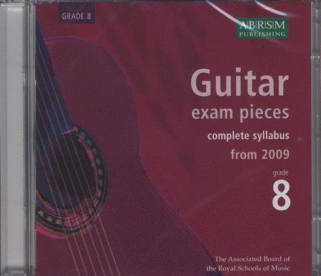 Guitar Exam Pieces 2009 CD, ABRSM Grade 8