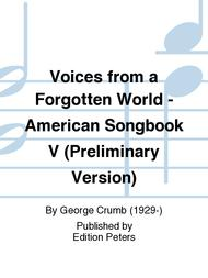 Voices from a Forgotten World