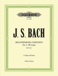 Brandenburg Concerto No. 6 in Bb BWV 1051