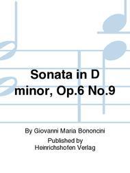 Sonata in D minor, Op. 6 No. 9
