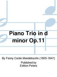 Piano Trio in d minor Op. 11