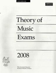 2008 Theory of Music Exams - Grade 8