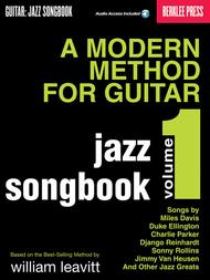 A Modern Method for Guitar - Jazz Songbook, Vol. 1
