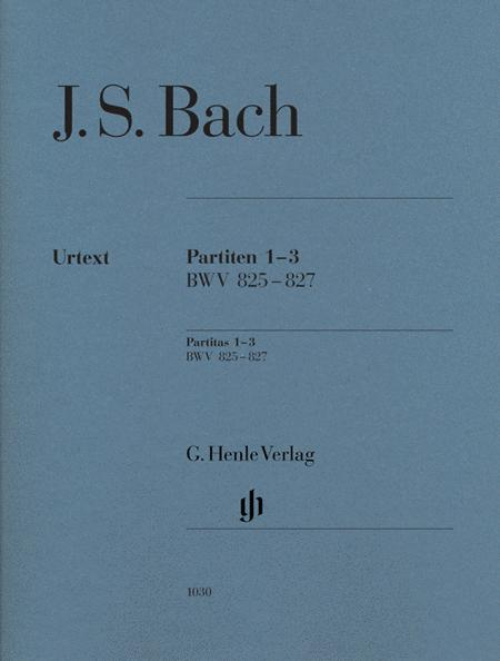 J.S. Bach: Partitas 1-3 BWV 825-827